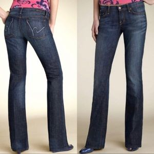 Citizens of Humanity Kelly #001 Low Waist Boot Cut